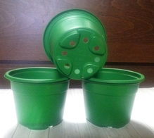 Горшок для рассады зеленый 0,3 10 шт