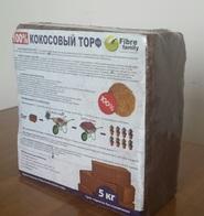 Субстрат кокосовый FIBRE FAMILY 75Л